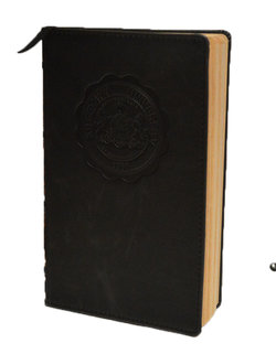 "Seal Journal Vintage Hardbound 5""x8"" 100 page"