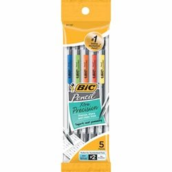 Bic Mechanical Pencils 5mm 5 count