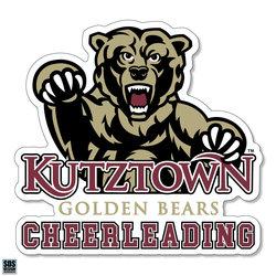 Golden Bears Cheerleading Sports Decal