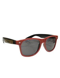 Neil Kutztown Maroon Sunglasses