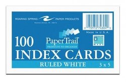 Index Cards 100 count