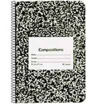 Composition Book Spiral Bound