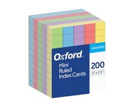 """Index Cards Mini 2.5""""x3"""" 200 count"""