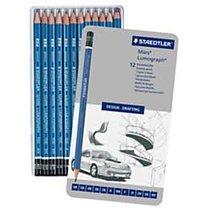 Staedtler Mars Lumograph Pencils 12 Pak