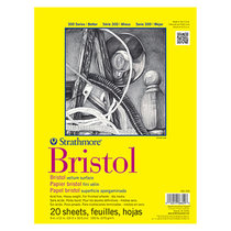 Bristol Paper Pad 20 Sheet 300 Series