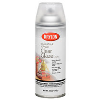 Spray Crystal Clear Glaze Coating