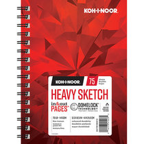 Heavy Sketch Pad 70lb 75 Sheet