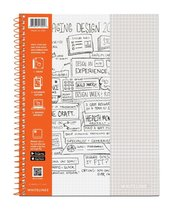 "WHITELINES NOTEBOOK 8.5""X5.25"" 70 SHEET"