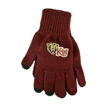LOGO KNIT GLOVE BEARHEADKU