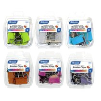 Binder Clip Assorted Sizes 12 Pak