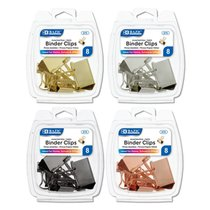 Binder Clip Assorted Sizes 8 Pak