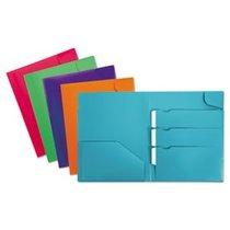 Div It Up 4 Pocket Poly Folder