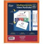 Folder 2 Pocket 3 Prong Poly Assorted Colors