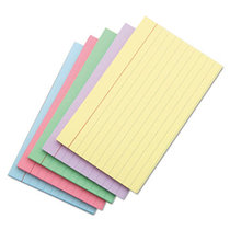 INDEX CARDS 3X5 BLUE RULED 100 COUNT
