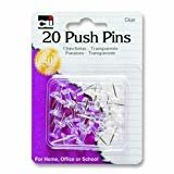 Push Pins 20 count
