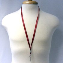 MAROON LANYARD WITH KUTZTOWN UNIVERSITY WHITE