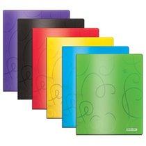 Folder Poly 2 Pocket Swirl Embossed