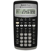 TI-BAII Plus Calculator