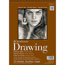 Drawing Paper Pad 80lb 24 Sheet 400 Series