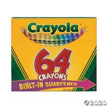 CRAYONS 64PAK CRAYOLA