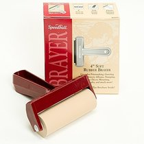 Brayer 4 inch Soft Rubber