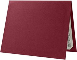 CERTIFICATE HOLDER TEXTURED BURGUNDY