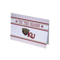 HOLIDAY GREETING CARD KU UGLY SWEATER
