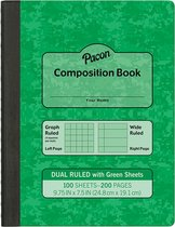 Composition Book Dual Ruled