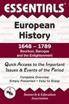 ESSENTIALS: EUROPEAN HISTORY 1648-1789