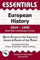 ESSENTIALS: EUROPEAN HISTORY 1914-1935