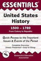ESSENTIALS: US HISTORY 1500-1789