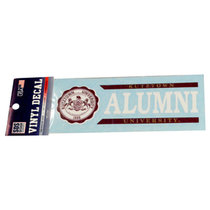 Alumni Decal w/Seal