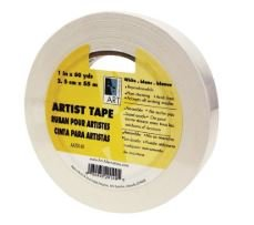 "ARTIST TAPE WHITE 1"" X 60YARD"