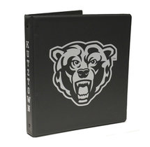 Bearhead Binder 1inch Charcoal With White Imprint