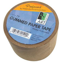"BROWN GUMMED PAPER TAPE 2"" X 75'"
