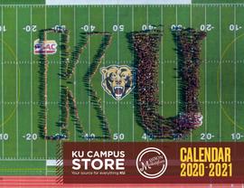 KU Campus Store Annual Calendar 2020 - 2021
