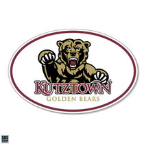 SDS KUTZTOWN GOLDEN BEARS DECAL