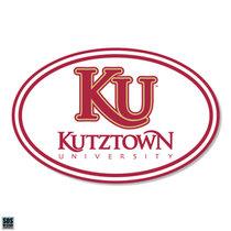 """6"""" Euro KU w/ Kutztown University Magnet"""