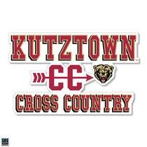 Cross Country Sports Decal 2018