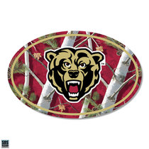 "6"" Euro Maroon True Camo Vinyl Decal"