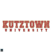 "10"" Boho Kutztown University Vinyl Decal"