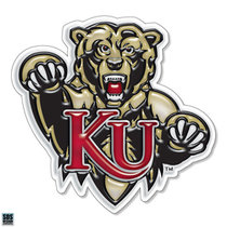"SDS 3"" Gellies Kutztown Bear KU Vinyl Decal"