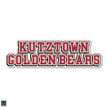 "6"" Kutztown Golden Bears Stacked Text Magnet"