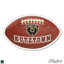 "2"" FOOTBALL WITH KUTZTOWN DIZZLER"