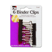 Binder Clips Small 6 Count