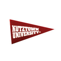 Collegiate Pacific Mini Magnet with White Kutztown University