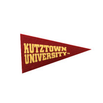 Collegiate Pacific Mini Magnet with Gold Kutztown University