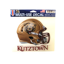 MULTI USE HELMET DECAL WITH KUTZTOWN UNDERNEATH