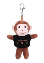 Jardine Monkey Plush Pals Keychain