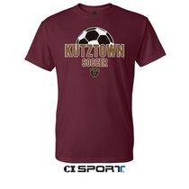 Maroon Soccer Sports Tee